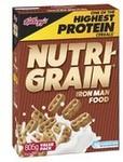 Kellogg's Cereals ½ Price: Sultana Bran $3.94 Crunchy Nut $3.75 Coco Pops $3.50 Nutri-Grain $3.7 (Any 2 = $10 @ Dymocks) @ Coles