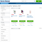 iPhone X 256GB $100 Optus Plan with 25GB/Month @ Harvey Norman (24 Month Contract)