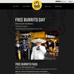 [NSW] Free Burrito Day 22/3 @ Guzman y Gomez (East Maitland)