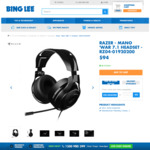Razer ManO'War 7.1 Gaming Headset (Standard) $94 + Delivery @ Bing Lee