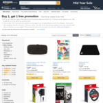 Buy 1 Get 1 Free (Selected Video Games & Accessories) @ Amazon AU