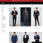 Suits from $99 @ Hallensteins