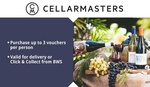 Cellarmasters $30 off $70 for $5 (New Customers) | Brita Jug, Bottle and 3 Filters $29 + Shipping @ Groupon