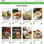 60% off All THR1VE Ready Meals (First 10 Customers, $250 Minimum Spend)