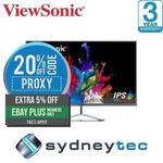 "ViewSonic 32"" WQHD 1440p @ 60Hz IPS Monitor Ultra-Slim VX3276-2K $296.17 Delivered (with eBay Plus) @ Sydneytec eBay"