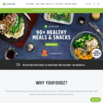 Youfoodz- $20 off + 1 Free Meal- New Customers Only