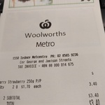 [NSW] 250g Australian Strawberry $1.70 @ Woolworths Wynyard