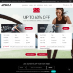Extra 20% OFF Already Reduced Products in 2XU Outlet