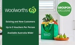 Woolworths Online: $5 for $20 off (Min. Spend $200) - Delivery or Pick-up Orders for All Customers @ Groupon