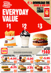 Hungry Jack's Vouchers - Valid until Monday 17th December 2018