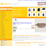 10% Off Code at LuggageGear eg Samsonite Cosmolite 81cm $485.10 Free Delivery