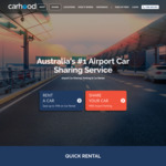 Free Sydney/Brisbane/Melbourne Airport Parking 24/7 + Free Car Wash + 20% Bonus Earnings on Vehicle When Rented out @ Carhood