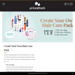 Price Attack: Create Your Own Hair Pack $49.95 (3 Items), $59.95 (4 Items) - Range Includes Multiple Items Worth up to $40 RRP