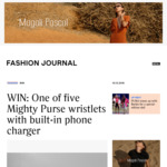 Win 1 of 5 Mighty Purse Wristlets with Built-in Phone Charger from Fashion Journal