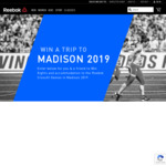 Win a Trip to the Reebok Crossfit Games 2019 in Wisconsin for 2 Worth $8,000 from Reebok