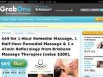 Brisbane 1 & Half Hour in-Home Massage & 45min Reflxology