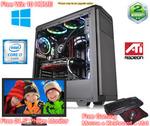 "Gaming PC Intel i7 16GB RAM 120GB SSD 1TB HDD RX 570 8GB Free KBM & 21.5"" Monitor $1288 Delivered @ FTC"