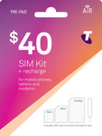 Telstra $40 SIM Kit + Recharge - Now $20 + Free delivery @ Cellmate
