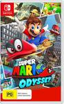 [Switch] Super Mario Odyssey $49, Pokémon: Let's Go $48 & More + Delivery (Free with Prime / $49 Spend) @ Amazon AU