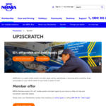 10% off Mobile Vehicle Scratch and Repair (NRMA Membership Required)