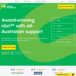 NBN 50/20 Unlimited $59/Month First 6 Months ($79/Month Thereafter) @ Aussie Broadband (New Customers)