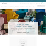 Win a $1,000 Gift Card from Adairs