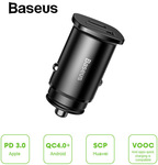 Baseus 30W Quick Charge 4.0 3.0 AFC SCP Car Charger PD Type C Car Phone Charger $9.32 (Was $18) Delivered @ eSkybird