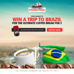 Win a Trip for 2 to Brazil or 1 of 360 Reuseable Coffee Cups [Purchase Any Fisherman's Friend Product from Selected Stores]