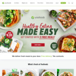 $10 off (Min Spend $49) @ Youfoodz 8 Meals for $42.80 ($5.35 Per Meal) + Poppin Chicken