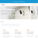 20% off Select Devices - Video Doorbell Pro $319 (Save $80), Free Shipping @ Ring