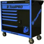 """55% off ToolPro Nitro Tool Cabinets. 42"""" Roller Cabinet $449.55 - Free C&C or + Delivery @ Supercheap Auto eBay"""