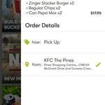2 x Zinger Stackers 2 x Small Drink 2 x Regular Chips $17.95 @ KFC App