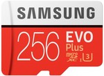 Samsung EVO Plus 256GB Micro SDXC Memory Card with SD Adapter - $78 C&C /+ $7.95 Delivery (RRP $110) @ Harvey Norman