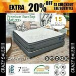 Zzz Atelier Luxe Dream Mattress King $263.2, Queen $231.2, Double $207.2, Single $127.2 Delivered / Delivery @ Zzz Atelier eBay