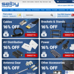 16% off Accessories @ Selby Acoustics