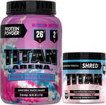 TITAN Protein Thick Shake + Pre-Workout Pack $90 Delivered @ SuppKings Nutrition
