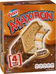 ½ Price Maxibon Ice Cream Varieties 4pk $4.20 @ Woolworths