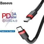 Baseus PD 3.0 60W 0.5M Type-C to Type-C Cables US $1.08 (~AU $1.62) Shipped @ Joybuy