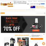 Black Friday Sale - Optimum Blenders from Froothie - up to 70% off, Plus Further Discounts for Multiple Purchases