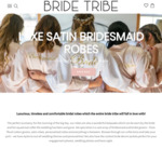 15% off Robes + Free Shipping @ Bride Tribes