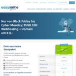 Free 25GB Hosting + Domain Name for 1 Year (Normally €3.99 / ~AU $6.50 Per Month) @ Easyname.at