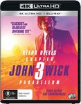 John Wick 3 Parabellum 4K $17.50 + Delivery (Free with Prime) @ Amazon AU