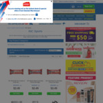 INC Proteins 1/2 Price off RRP at Chemist Warehouse