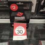 Boost Mobile $40 Prepaid Starter Kit $30 (Was $40) @ Kmart