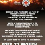 [VIC, SA, BF] Free 12 Month Derrimut Gym Membership for CFA or CFS Members or Volunteers