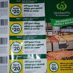 [VIC] $20 off $100 Minimum Spend (Barcode Required) @ Woolworths (Brunswick & Barkly Square)