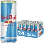 Red Bull Sugarfree Energy Drink Can 24 Pack $32.22 ($29 Subscription) + Delivery ($0 with Prime/ $39 Spend) @ Amazon AU