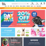 20% off Sitewide (Including Sale Items) + Free Delivery Over $29 @ Pet House