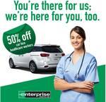 50% off Car Rental for Healthcare Workers across Australia @ Enterprise Australia