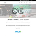 45% off The Bone Co Dog Beds + Free Shipping